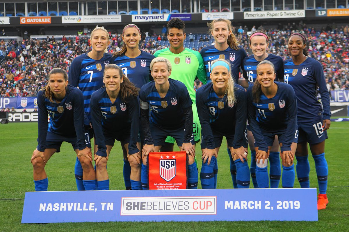 2019 SheBelieves Cup - United States v England