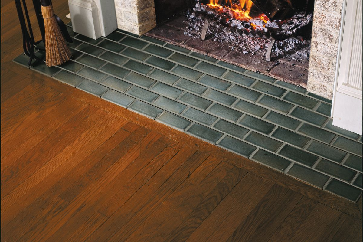 How To Tile A Hearth This Old House