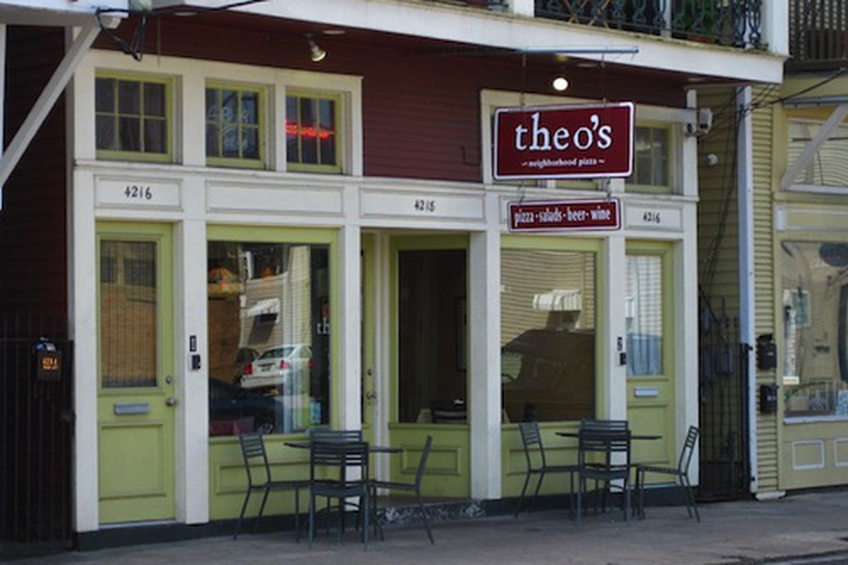 Theo's uptown.