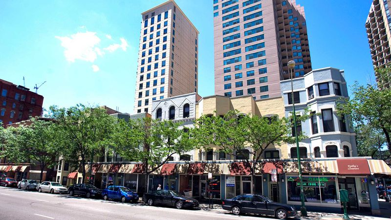 Gramercy Row at 660 N. Dearborn is among the apartment developments owned by TLC Management.