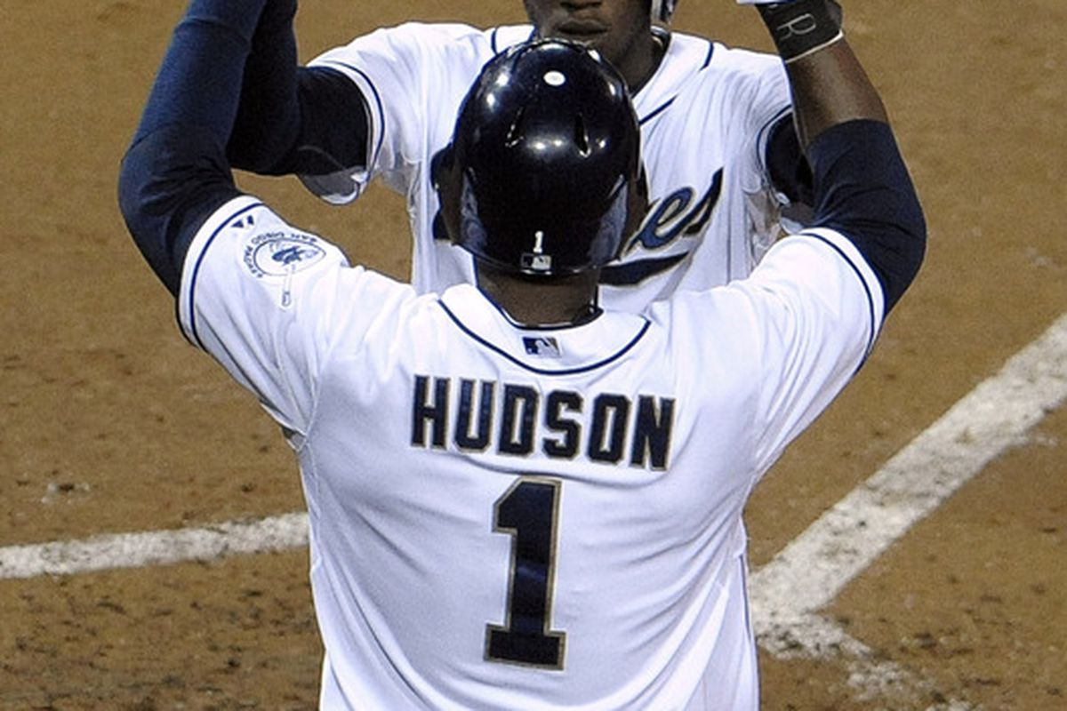 And then the music swelled... and the audience began clapping in rhythm... And Cameron Maybin caught Orlando Hudson's eye, and the two danced the Pasodoble as passionately as the Pasodoble had ever been danced...