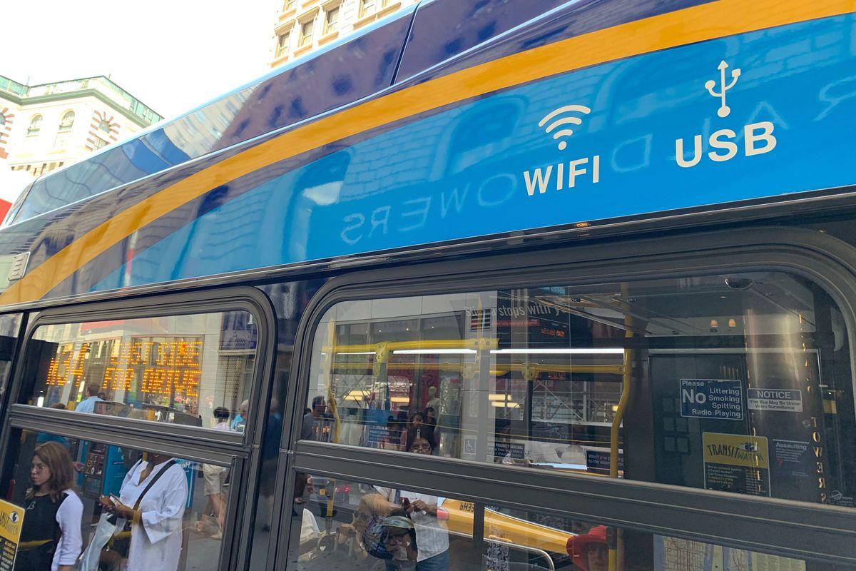 MTA Buses WiFi