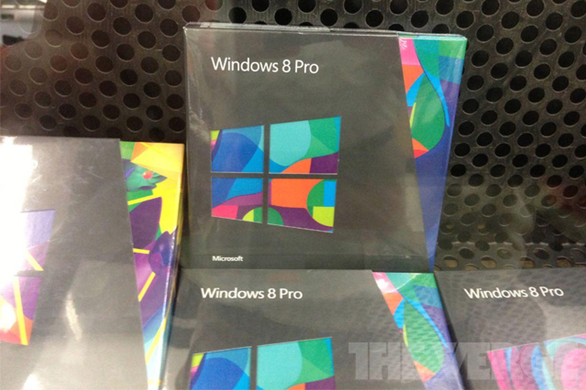 Windows 8 boxes Walmart