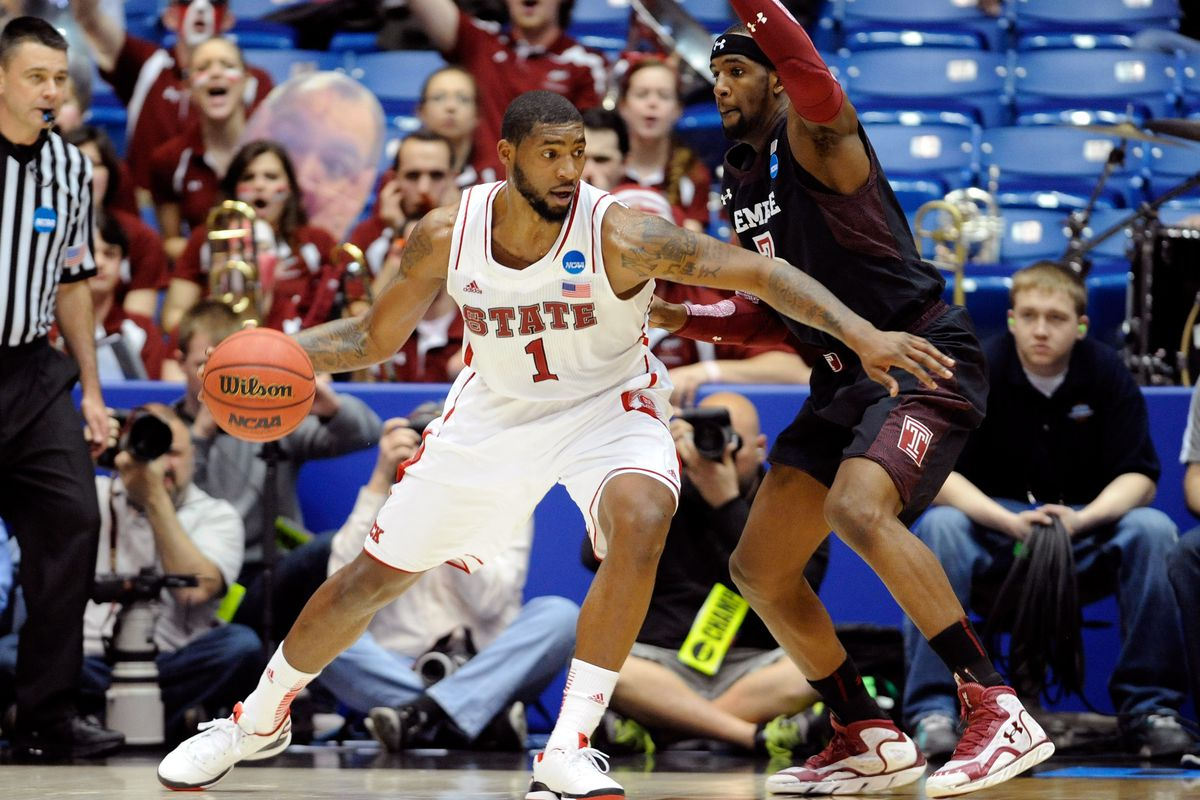 Richard Howell was one of the six players who took part in Portland's first predraft workout on Thursday