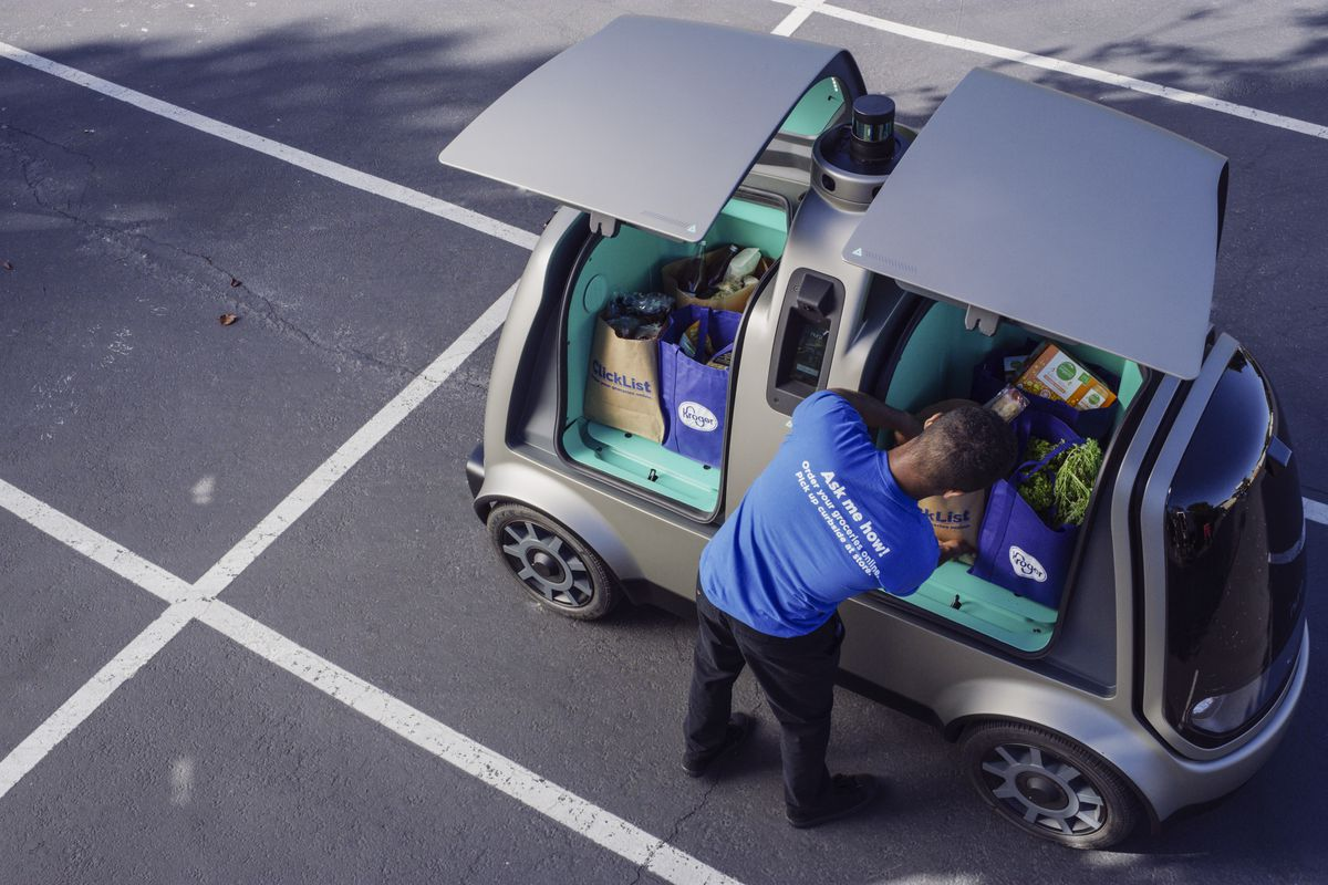 Robot cars start delivering groceries in Arizona - The Verge