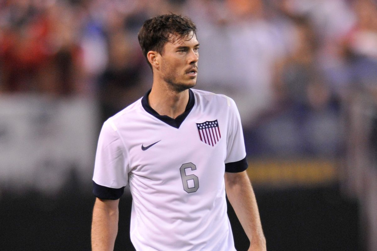 Better get used to seeing Brad Evans in red, white and blue.