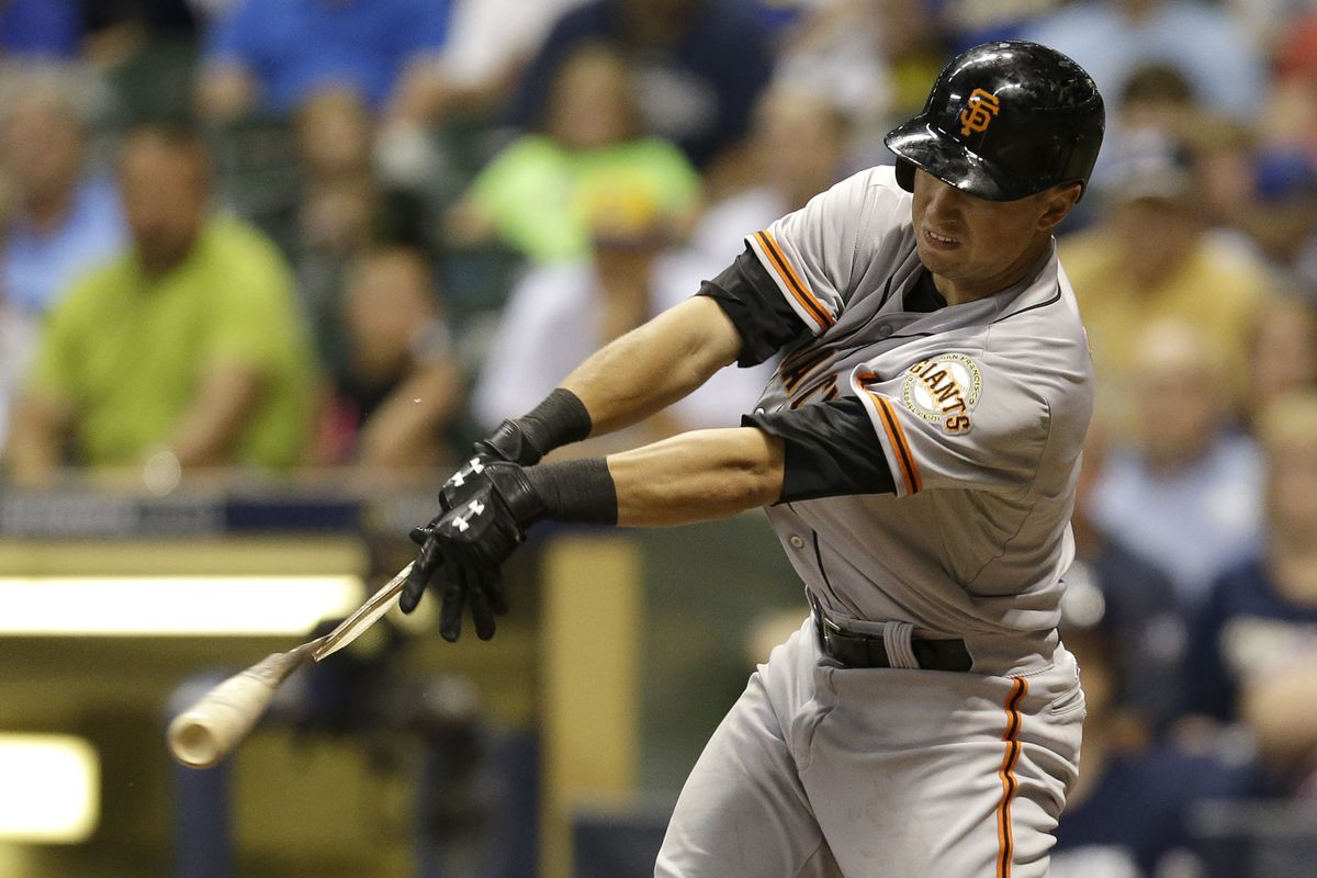 The Giants were rotten with broken-bat hits, and I don't care.