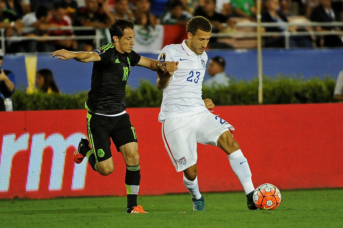 Fabian Johnson may or may not be injured here.
