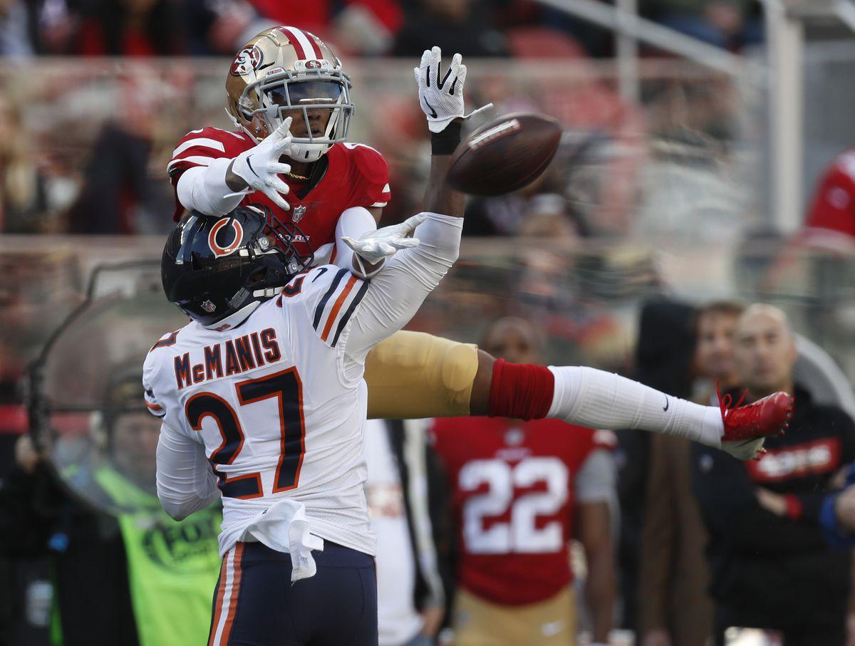 San Francisco 49ers versus Chicago Bears