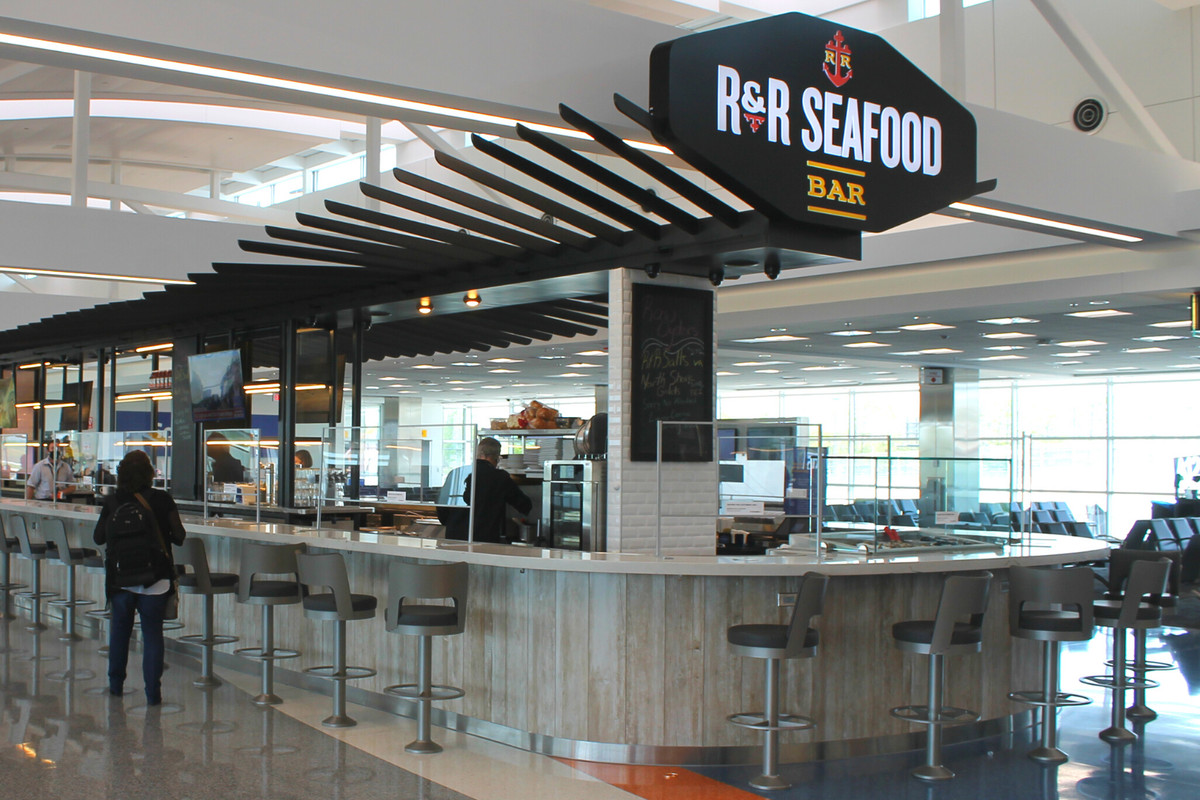 A new location of R&R Seafood Bar in BWI