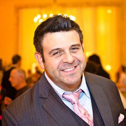 But television host Adam Richman was there.