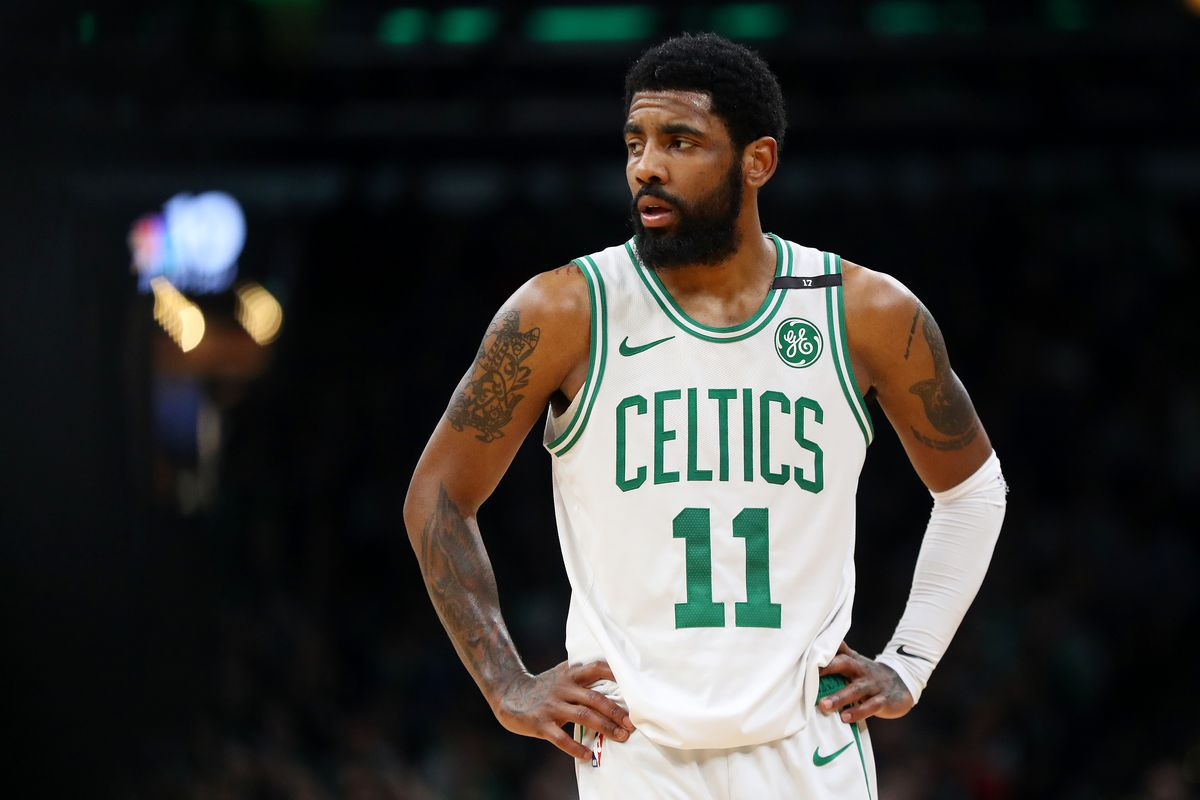 "26423567ad2 Kyrie Irving after Game 5 loss  ""glad we got to feel this"" - CelticsBlog"