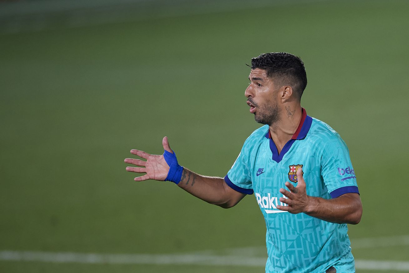 Barca don?t want Suarez to join Atleti for free