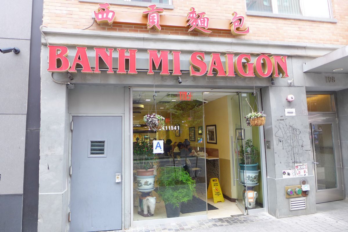 The second incarnation of Banh Mi Saigon appeared on Grand Street.