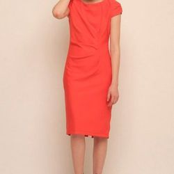 """Ruched bright dress from Baci, <a href=""""http://www.shoptiques.com/products/ruched-bright-dress"""">$260</a>."""