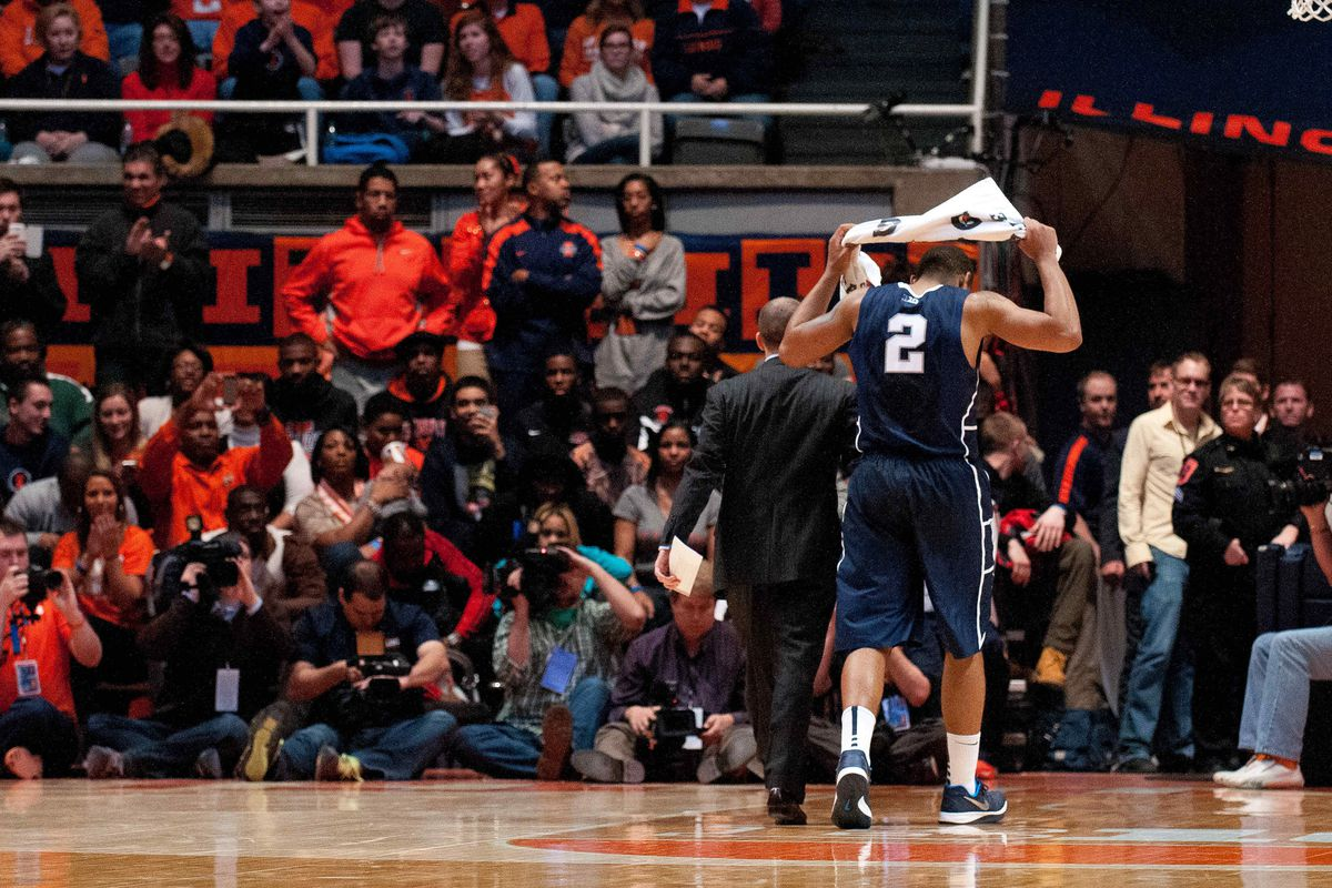 Penn State Smothered by Illini Defense, 75-55 - Black Shoe ...