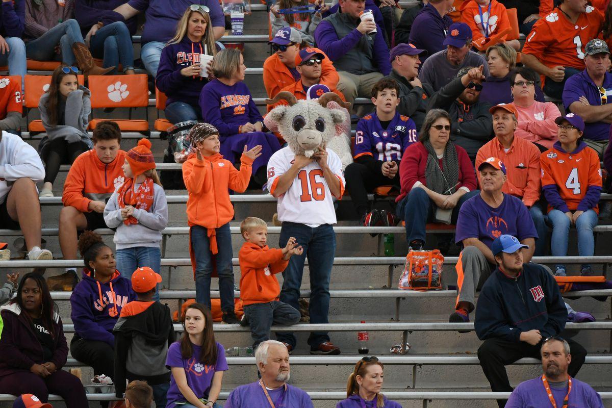 NCAA Football: Wofford at Clemson