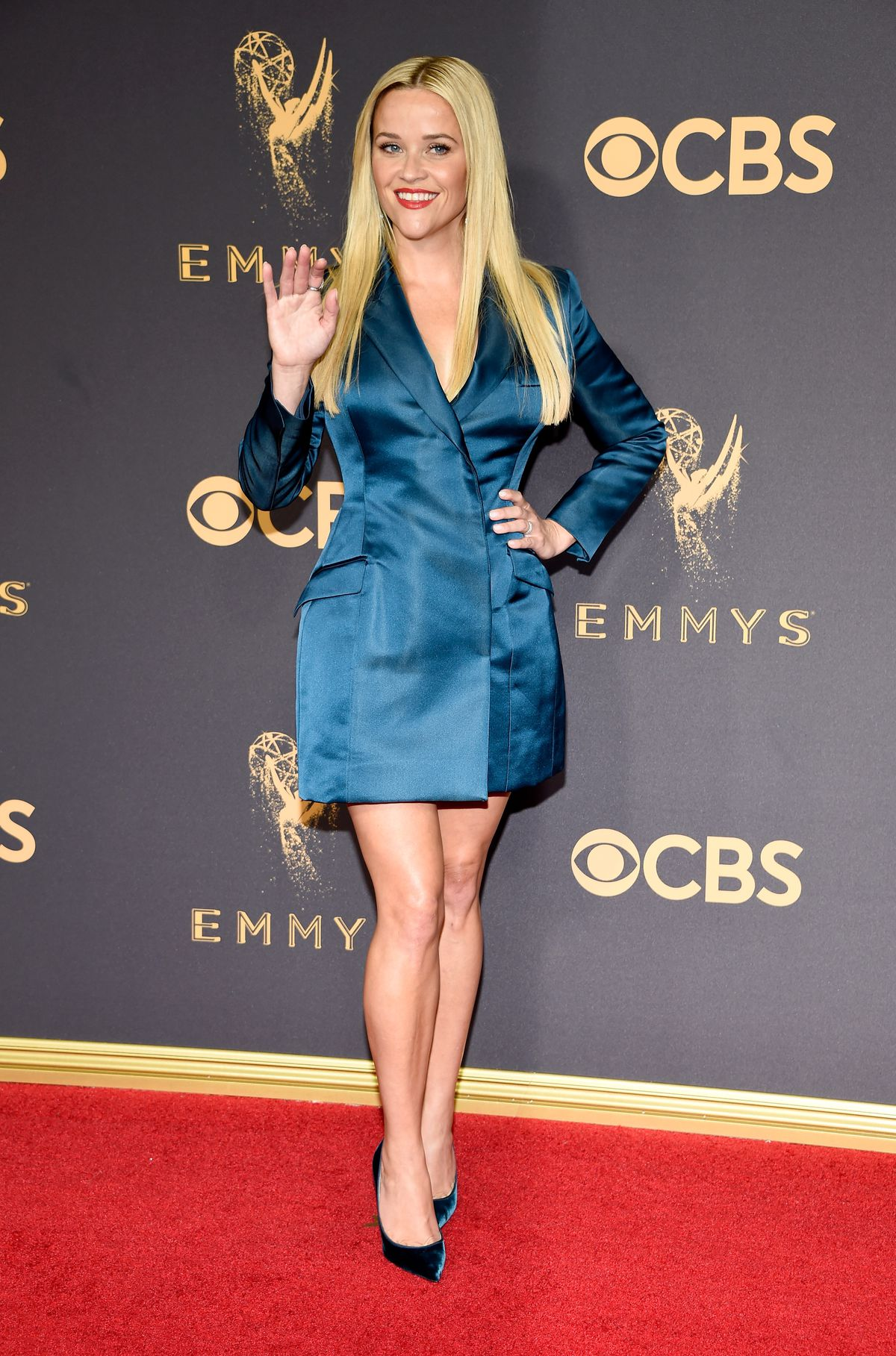 Reese Witherspoon at the 2017 Emmys