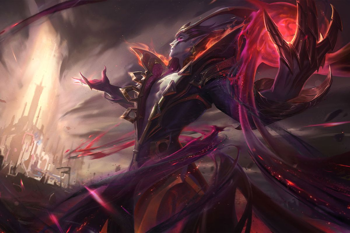 Nightbringer Vladimir faces a city, ready to attack