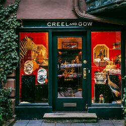 """<b>↑</b> Step into the curio cabinet that is <a href=""""http://www.creelandgow.com/""""><b>Creel and Gow</b></a> (131 East 70th Street) and become lost in the beautifully arranged collections of taxidermy, objets d'art, and wonders from all over the world. Sou"""