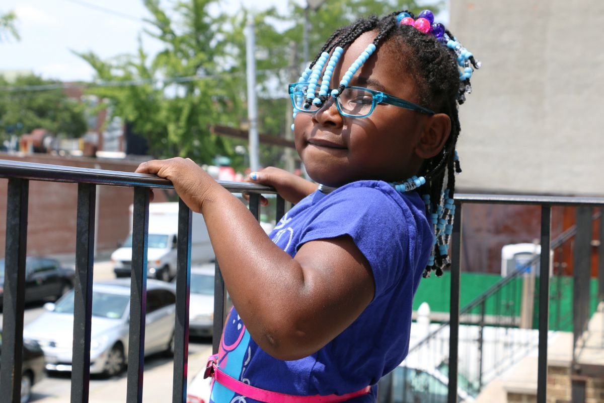 Six-year-old Amira Barrett, of New York City, waited two years for an evaluation to determine whether she has a disability and is eligible for special-education services.