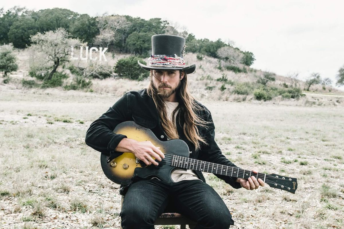 """With his band tour canceled, Lukas Nelson now presents streams Tuesdays and Thursdays on social media dubbed """"Quarantunes Evening Session."""""""