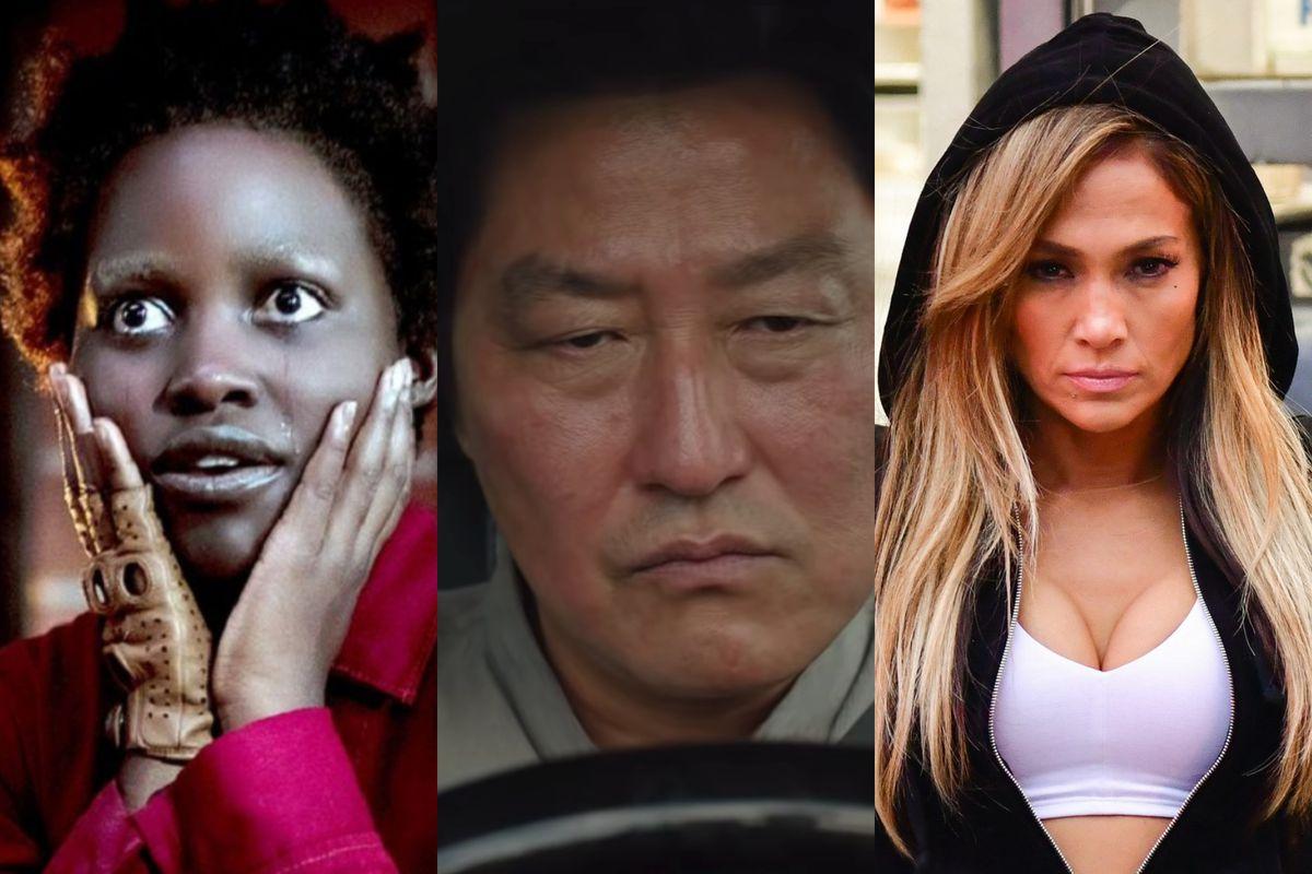 Lupita Nyong'o stars in Us, Song Kang-ho stars in Parasite, and Jennifer Lopez stars in Hustlers.