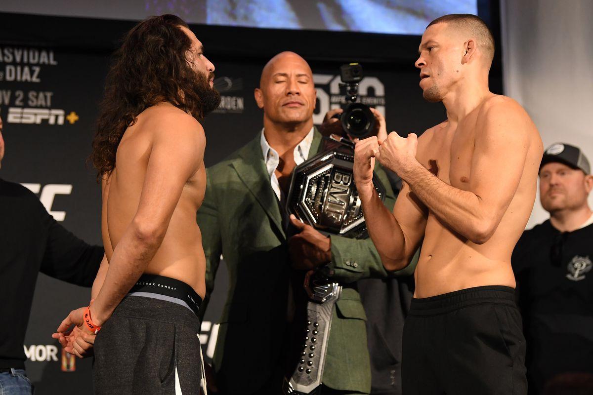 UFC 244: Weigh-Ins