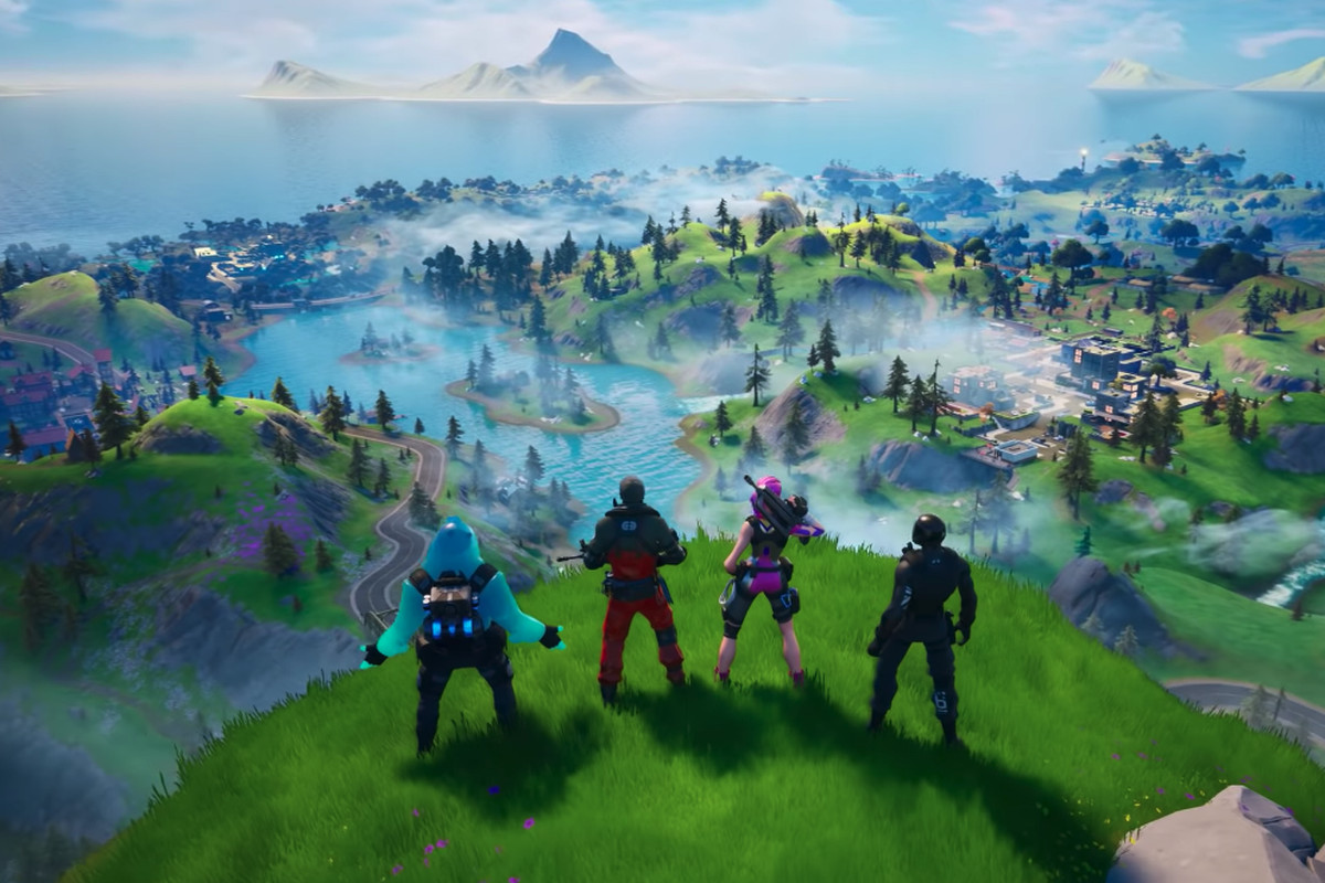 How Many Players Can Play Fortnite On Same Ps4 Fortnite Adds Local Split Screen On The Xbox One And Playstation 4 The Verge