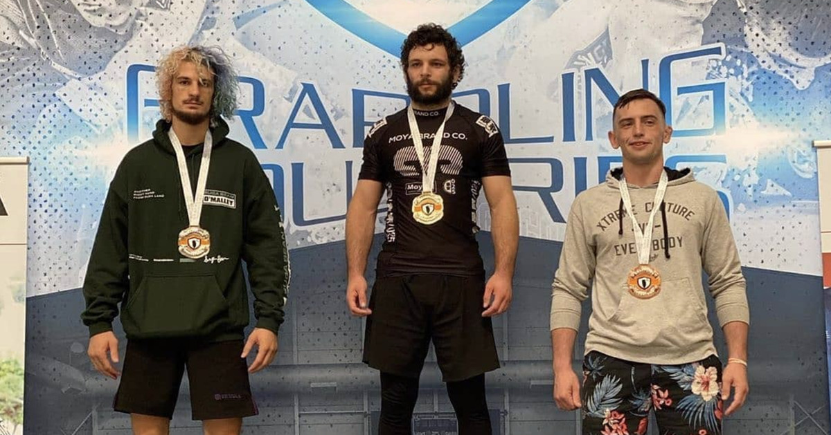 Video: Robert Degle submits Sean O'Malley in grappling tournament final with heel hook