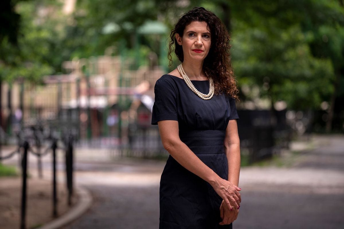 Legal Aid attorney Terri Rosenblatt has been pushing to have NYPD officers' DNA tested at crime scenes, July 9, 2021.