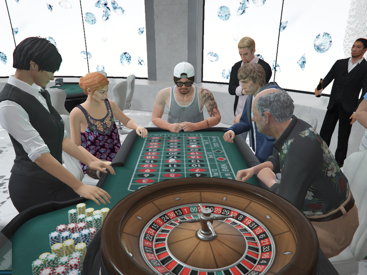 GTA Online players say they're going broke betting in the casino - Polygon