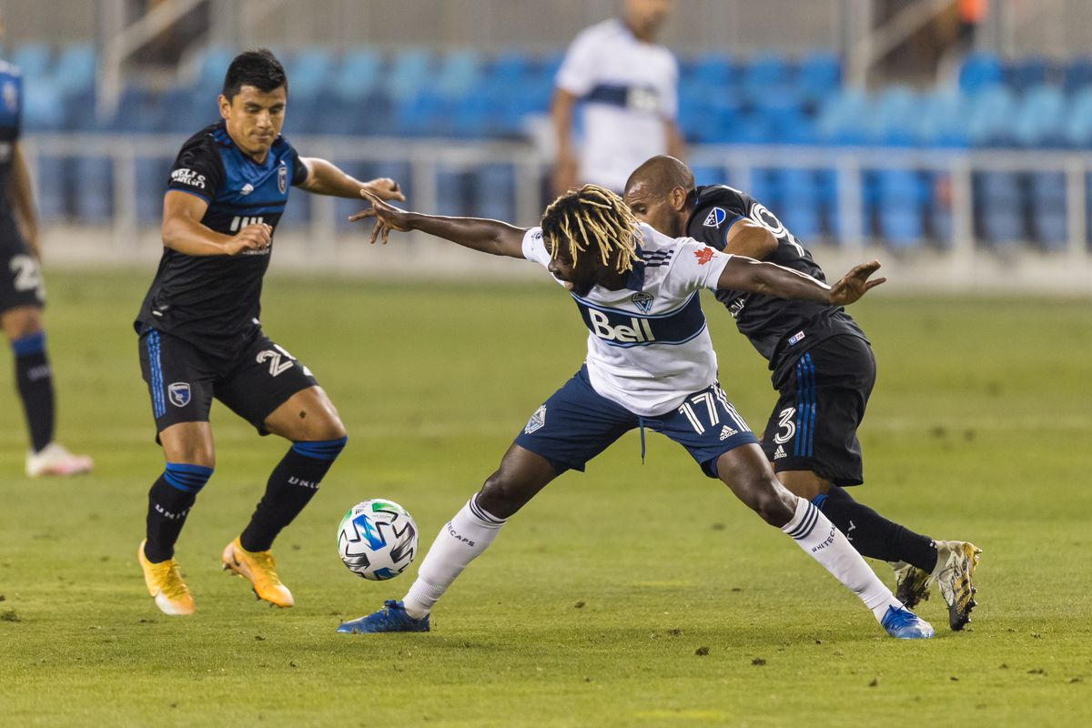 SOCCER: OCT 07 MLS - Vancouver Whitecaps FC at San Jose Earthquakes