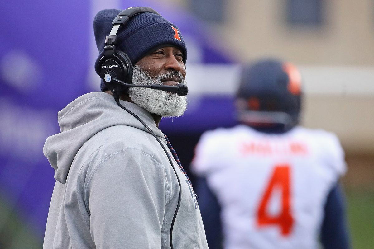 Lovie Smith guided Illinois to a 4-8 record last season and is 9-27 in three seasons at the school.