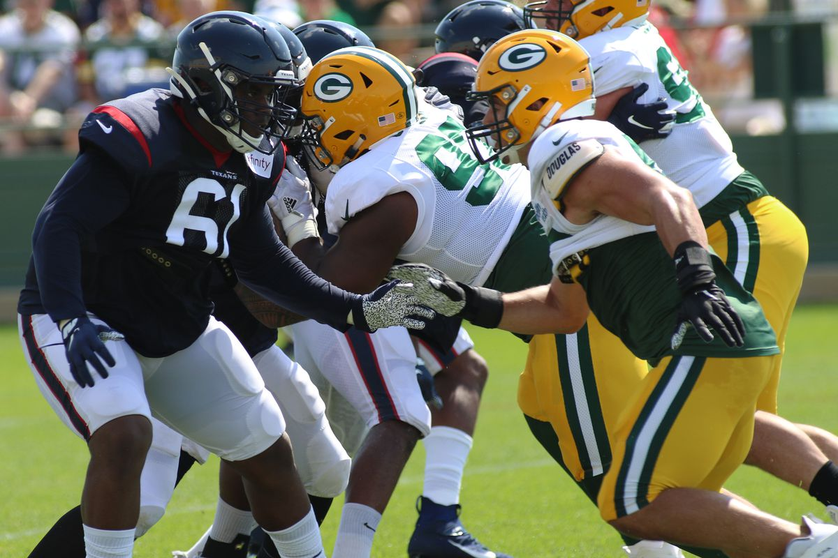 NFL: AUG 05 Packers and Texans Joint Practice