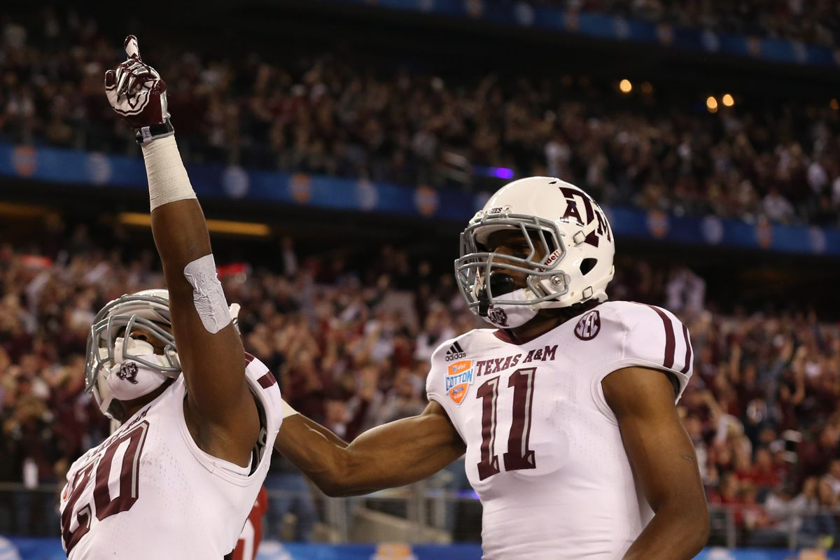 11 days till football!  So here is a shout out to A&M Receiver, #11 Derel Walker