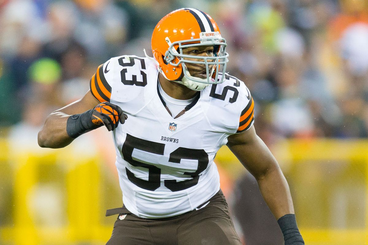 sneakers for cheap 156a8 2d299 Steelers-Browns Injury Report: LB Craig Robertson Doubtful ...