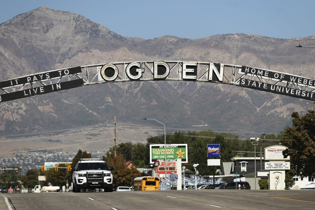 Washington Street in Ogden is pictured on Tuesday September 29, 2020.