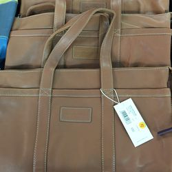 Large leather bag, $100 (from $365)