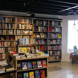 The bookshop moved right behind its old space and will soon roll out a magazine stand across from its shop.