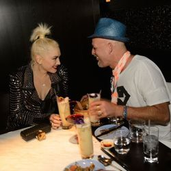 Gwen Stefani and hairstylist Danilo.