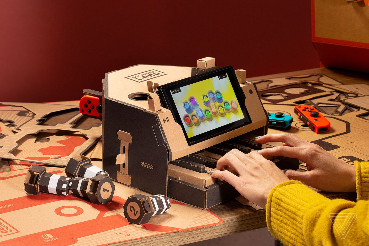 Electric Cars For Kids >> How well does Nintendo Labo cardboard hold up after a few weeks? - The Verge