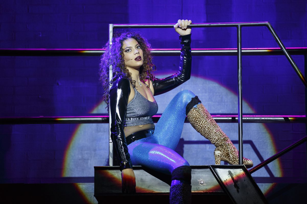 """Skyler Volpe plays Mimi in the 20th anniversary national tour of """"Rent,"""" now at the Oriental Theatre. 