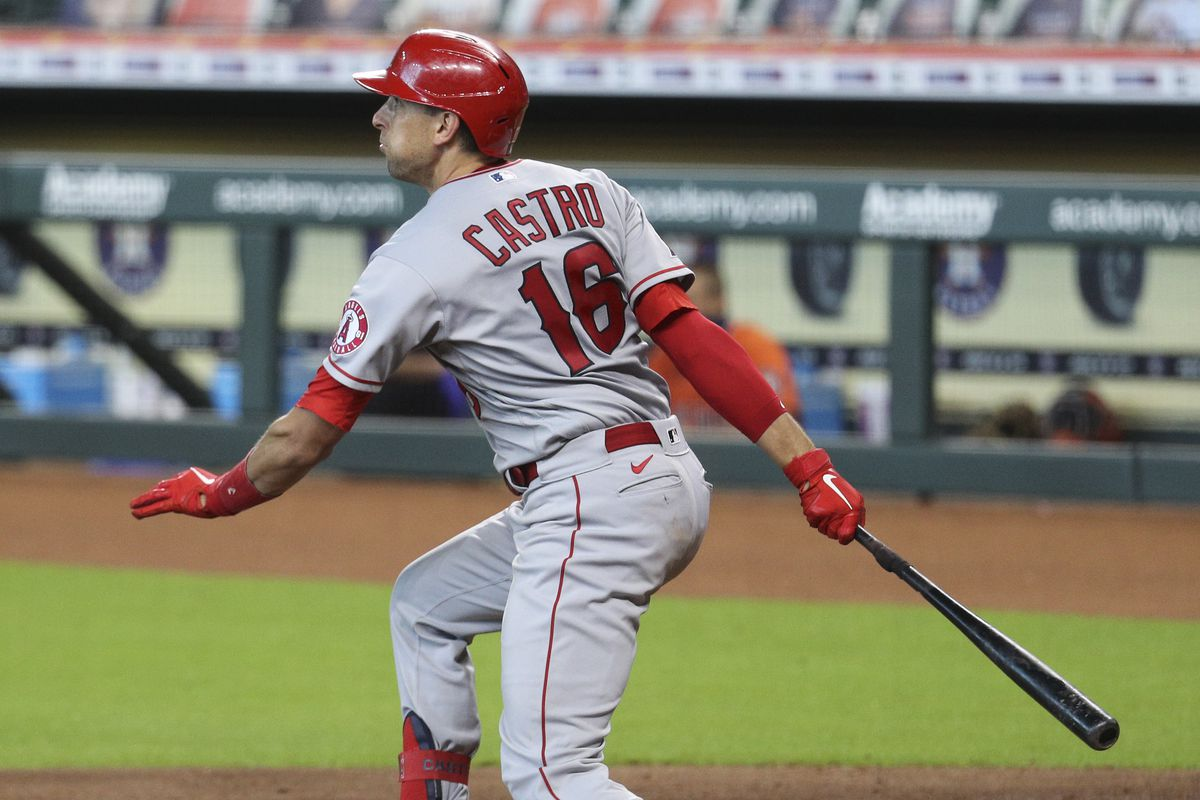 Los Angeles Angels v Houston Astros - Game One