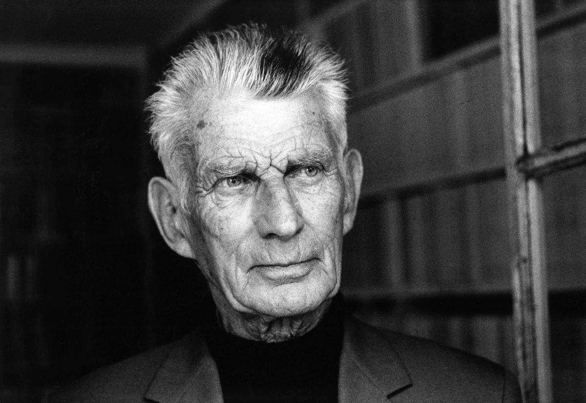 Archives: The writer Samuel Beckett in France in April, 1997.
