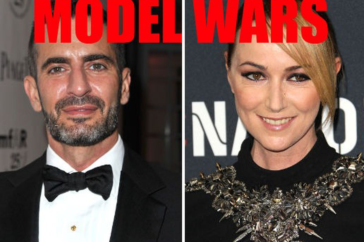 Marc Jacobs and Frida Giannini images via Getty