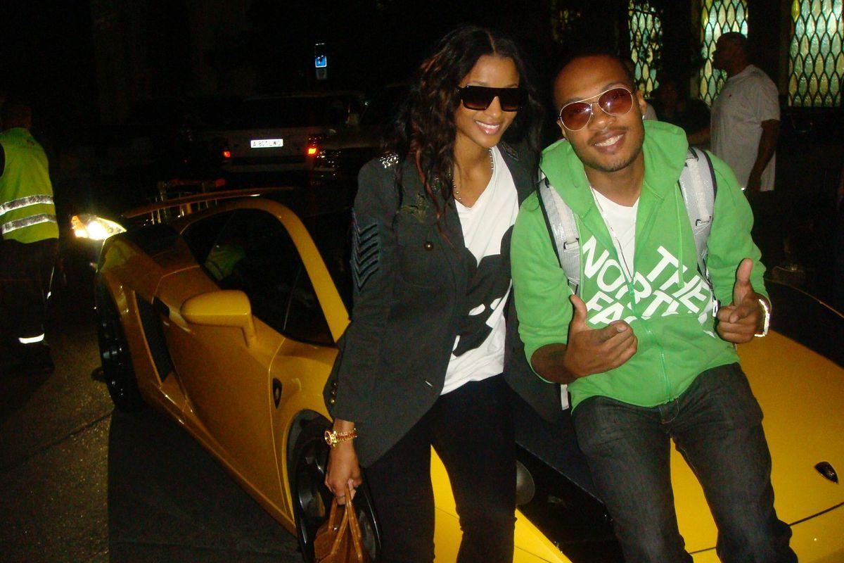 Ciara and DJ Trauma