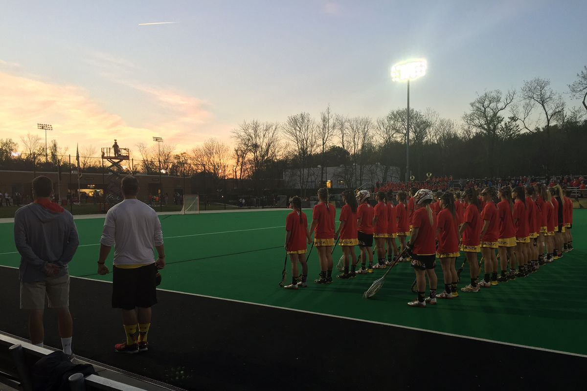 Maryland became the first school in NCAA history to have both the men's and women's lacrosse teams earn No. 1 overall seeds in the NCAA Tournament