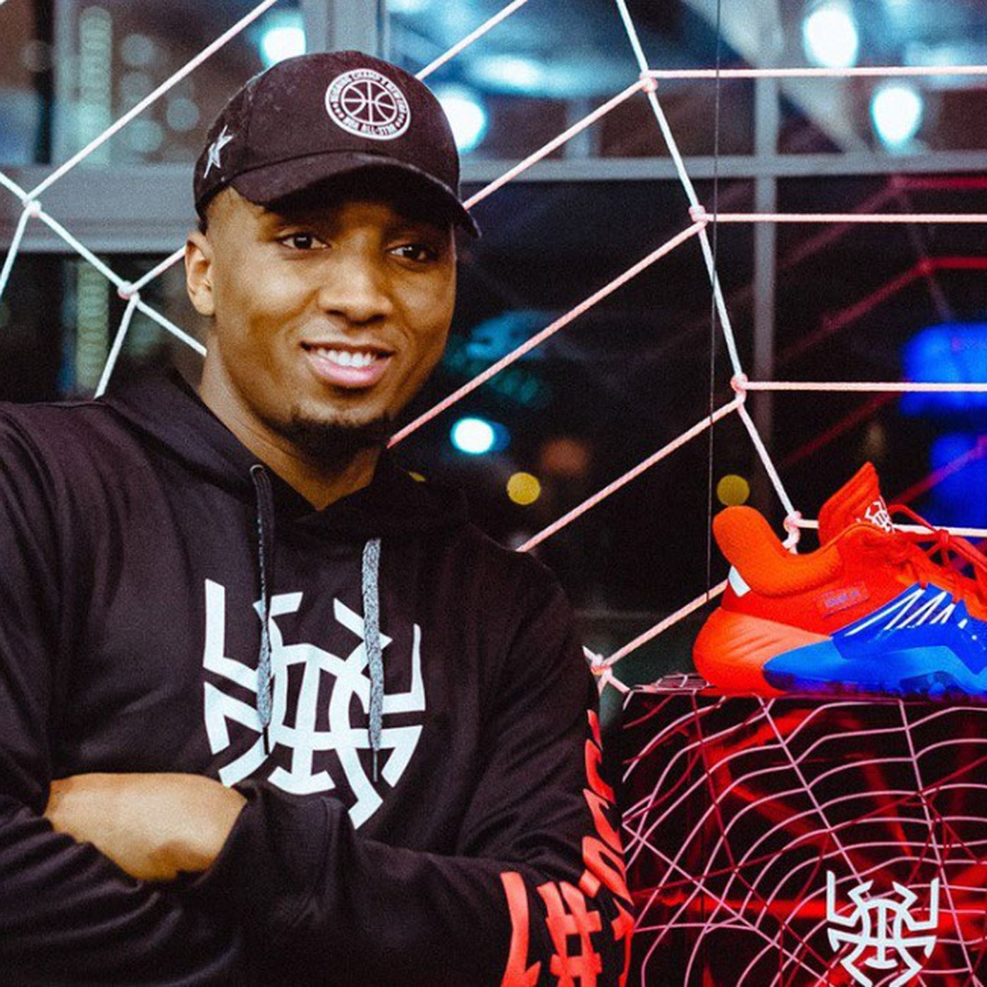 online store bcc49 e640c Donovan Mitchell and Adidas unveil signature shoe D.O.N. Issue 1