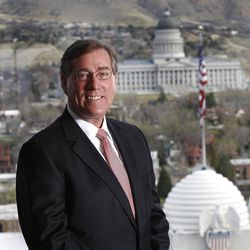 Scott Anderson, president of Zions Bank Tuesday, March 27, 2012, in Salt Lake City, Utah.